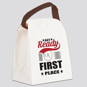 Get Ready for First Place Canvas Lunch Bag