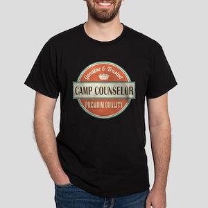 camp counselor vintage logo Dark T-Shirt