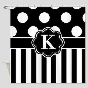 Red White Polka Dot Shower Curtains Cafepress