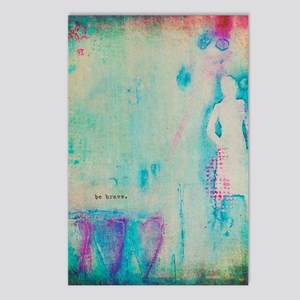Be Brave Postcards (Package of 8)