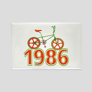 Retro 1986 BMX Bike Magnets