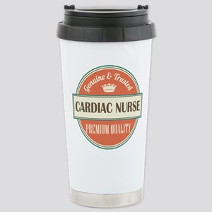 cardiac nurse vintage l Stainless Steel Travel Mug