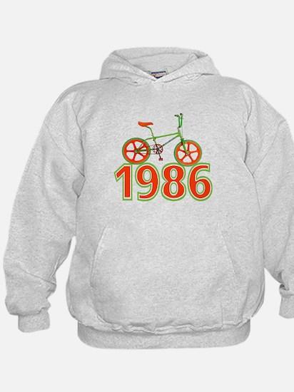 Retro 1986 BMX Bike Hoodie
