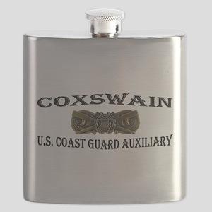 USCG Auxiliary Coxswain Flask