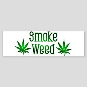 Smoke Weed Bumper Sticker