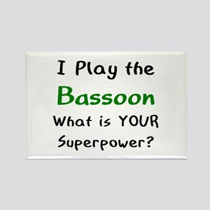play bassoon Rectangle Magnet