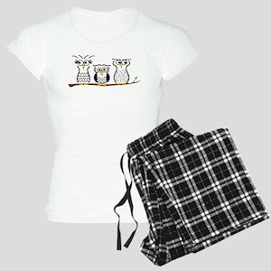 Three Little Owls Women's Light Pajamas