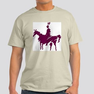 Indian On Horse Light T-Shirt
