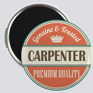 carpenter vintage logo Magnet