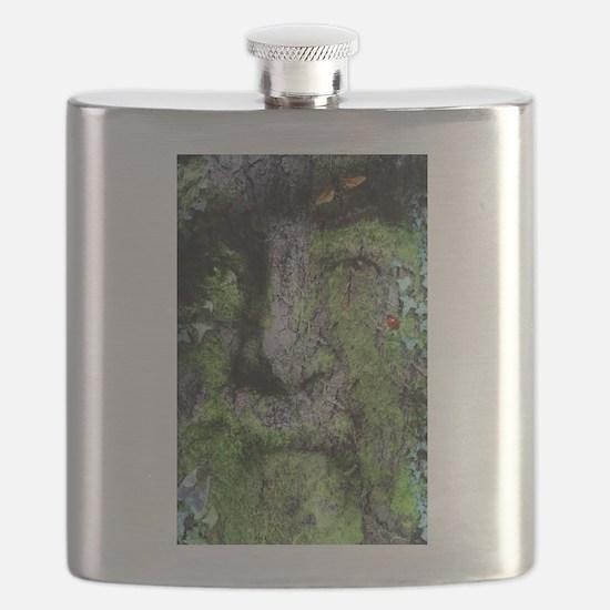 The Green Man (Walt Whitman) Flask