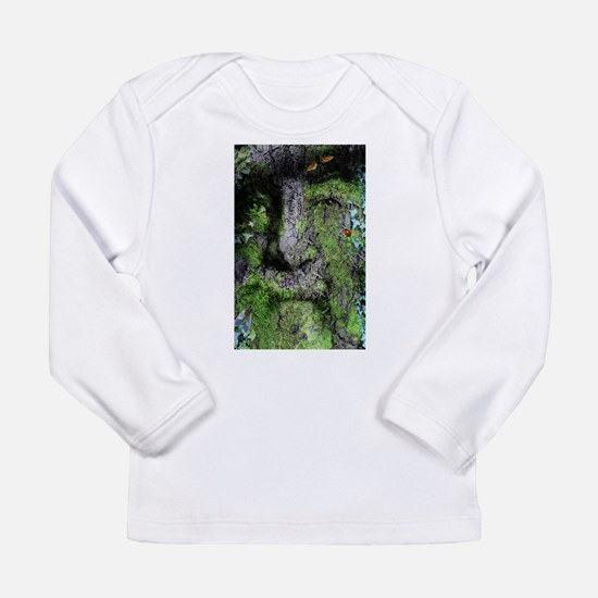 The Green Man (Walt Whitman) Long Sleeve T-Shirt