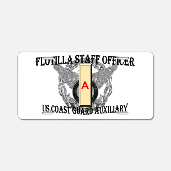 Flotilla Staff Office Aluminum License Plate