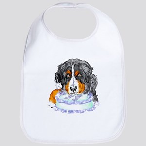 Bernese MT Dog Birthday Bib