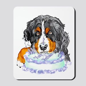 Bernese MT Dog Birthday Mousepad