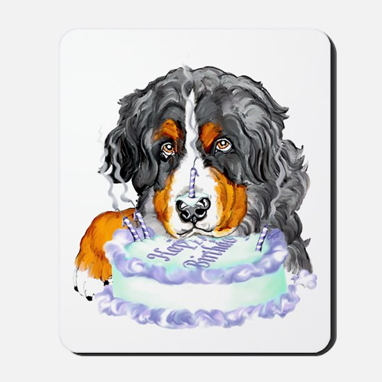 Bernese MT Dog Birthday Mousepad