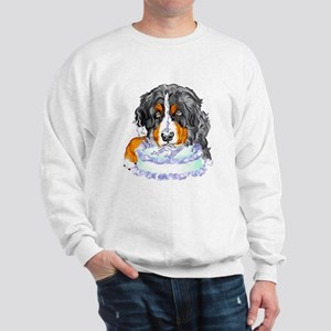 Bernese MT Dog Birthday Sweatshirt