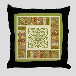 PATCHWORK PERFECTION Throw Pillow