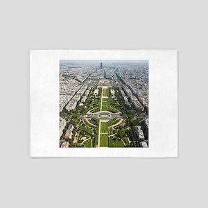 Champ de Mars Paris 5'x7'Area Rug