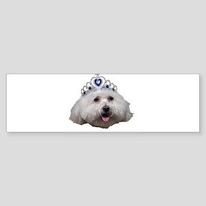 Queen Fifi, the worlds most d Bumper Sticker