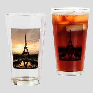 Eiffel Tower Paris Drinking Glass