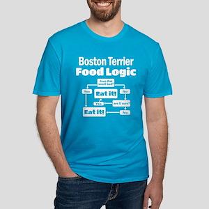 Boston Food Men's Fitted T-Shirt (dark)