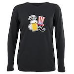 Drink Up America Plus Size Long Sleeve Tee