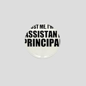 Trust Me, I'm An Assistant Principal Mini Button