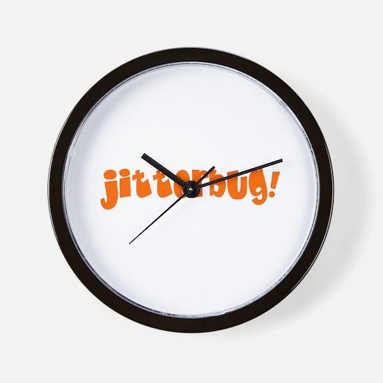 jitterbug! Wall Clock