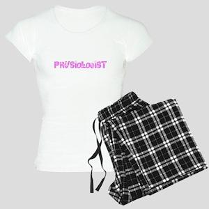 Physiologist Pink Flower Design Pajamas