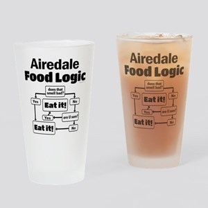 Airedale Food Drinking Glass
