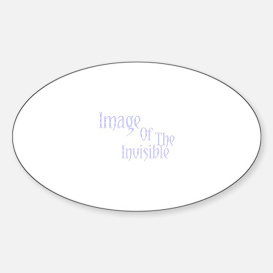 Image Of The Invisible Oval Decal