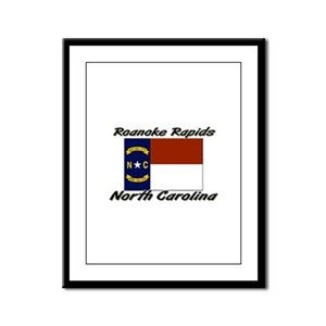 Roanoke Rapids North Carolina Framed Panel Print