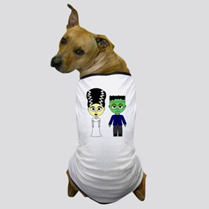 Bride of Frankenstein and Monster Dog T-Shirt