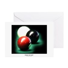 Behind The 8 Ball Greeting Cards (Pk of 20)