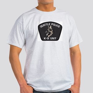 Seattle Police K-9 Unit Light T-Shirt