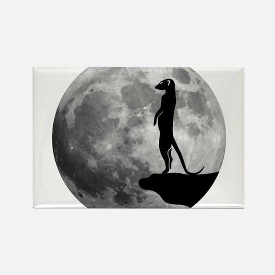 meerkat erdmännchen mond moon Magnets