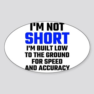 Im Not Short Sticker