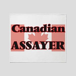 Canadian Assayer Throw Blanket