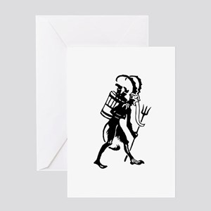 Krampus 008 Greeting Card