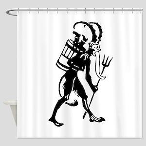Krampus 008 Shower Curtain