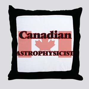 Canadian Astrophysicist Throw Pillow