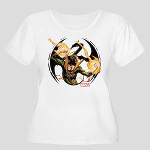 Iron Fist Glo Women's Plus Size Scoop Neck T-Shirt