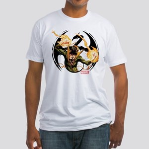 Iron Fist Glowing Fists Fitted T-Shirt