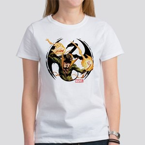 Iron Fist Glowing Fists Women's T-Shirt