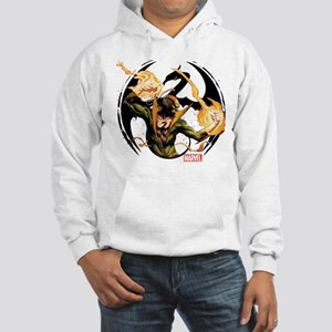 Iron Fist Glowing Fists Hooded Sweatshirt