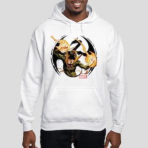 Iron Fist Glowing Fists Hooded Sweatshirt