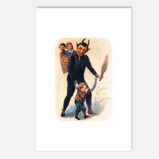 Krampus 003 Postcards (Package of 8)