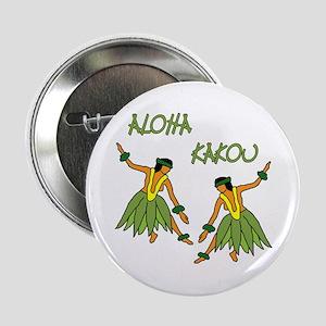 Hula dancers Button