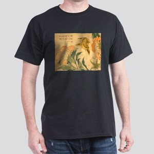 Peony and Canary by Hokusai Katsushika T-Shirt