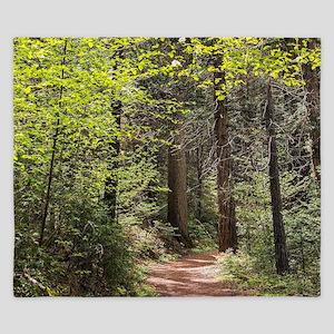 Forest Trail King Duvet